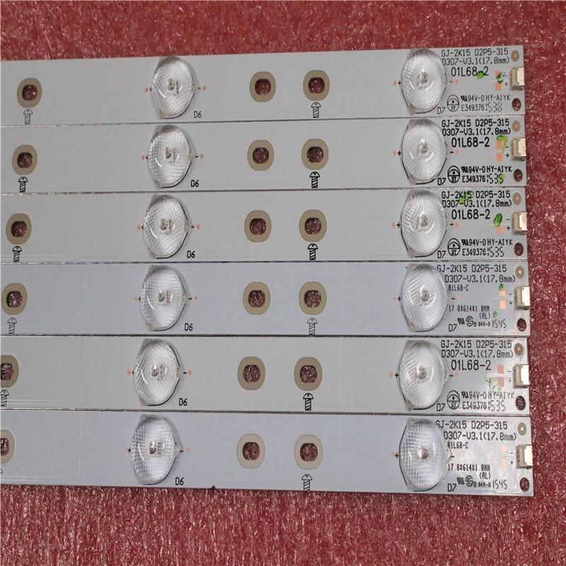 1 Set=6 PCS New Original LED Strips For 32