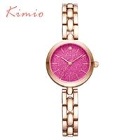 KIMIO New Fashion Luxury Women Quartz Casual Bracelet Watch Clock Female Waterproof Ladies Girl Dress Wristwatch