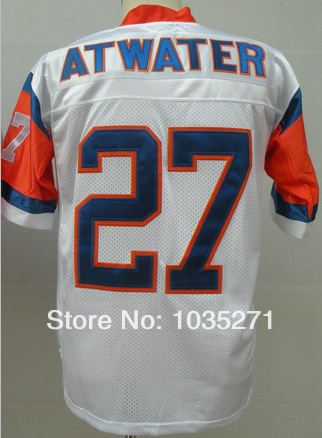 Good Customer reviews Jersey#27 Steve Atwater Jersey Throwback  JerseyFree Shipping