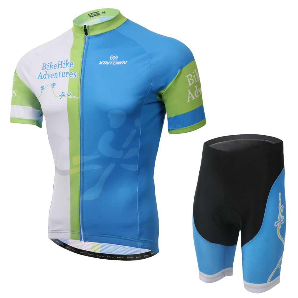 XINTOWN 2015 new riding jersey short sleeve suit sports cycling suits team version of sweat-absorbent breathable underwear