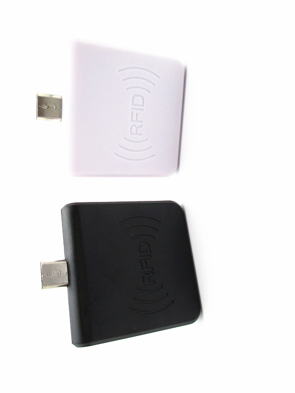 13.56Mhz IC mobile RFID Proximity Sensor Smart Card Reader for mobile Android Linux Windows black or white