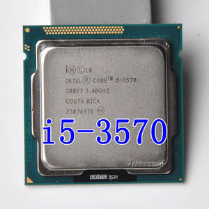 intel i5 3570 Processor Quad-Core 3.4 Ghz L3 = 6 M 77 W Socket LGA 1155 Desktop