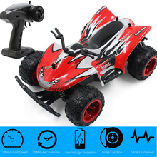 PX9602 RC Off-road Car 20km/h 4WD 4CH 1:22 RTR 2.4GHz 4CH Buggy Speed storm with Brake Low Voltage Protection RC Toy for Kids