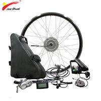 Мощный BAFANG 48 В 350 Вт 500 Электрический колесный Двигатель Электрический велосипед Conversion Kit с батарея 20ah 26ah 8FUN BPM двигатель колеса