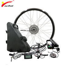 Powerful BAFANG 48V 350W 500W Electric Wheel Motor Electric Bike Conversion Kit with Battery 48V 20ah 26ah 8FUN BPM Motor Wheel bottom discharge ebike battery 51 8v electric bike battery 52v 20ah for 48v bafang 8fun 1000w bbs03 bbs02 motor for sanyo cell