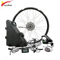 Powerful BAFANG 48V 350W 500W Electric Wheel Motor Electric Bike Conversion Kit with Battery 48V 20ah 26ah 8FUN BPM Motor Wheel