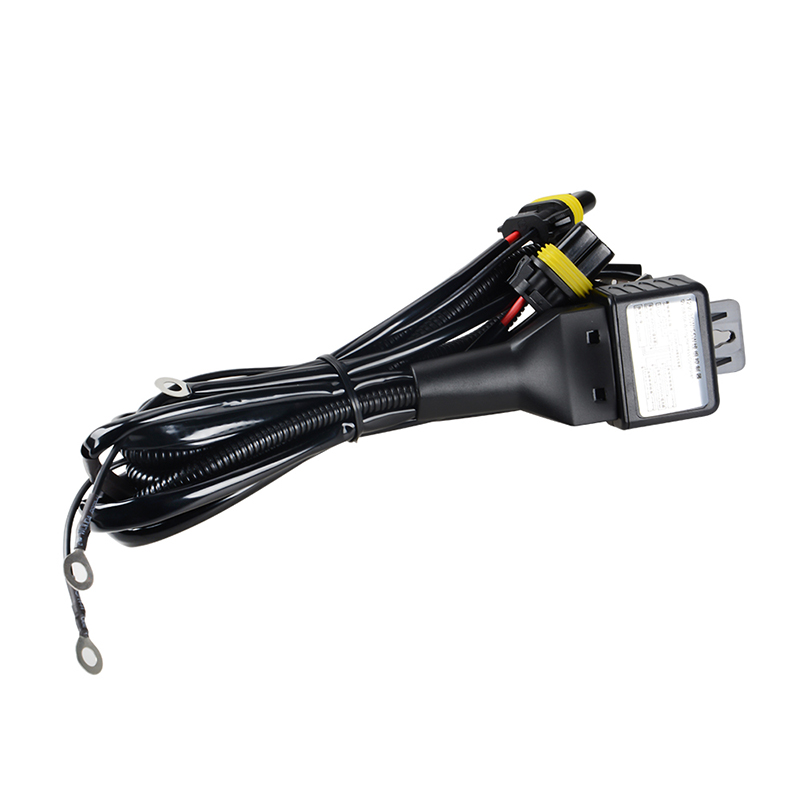 35 Hid 12V 35 55W HID Bixenon H4 Wiring Harness Controller For Auto Hid V Wiring Harness Controller on