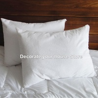50 70cm Terry Waterproof Pillow Protector Pillow Protector Pillowcase For Bed Bug And Bed Wetting
