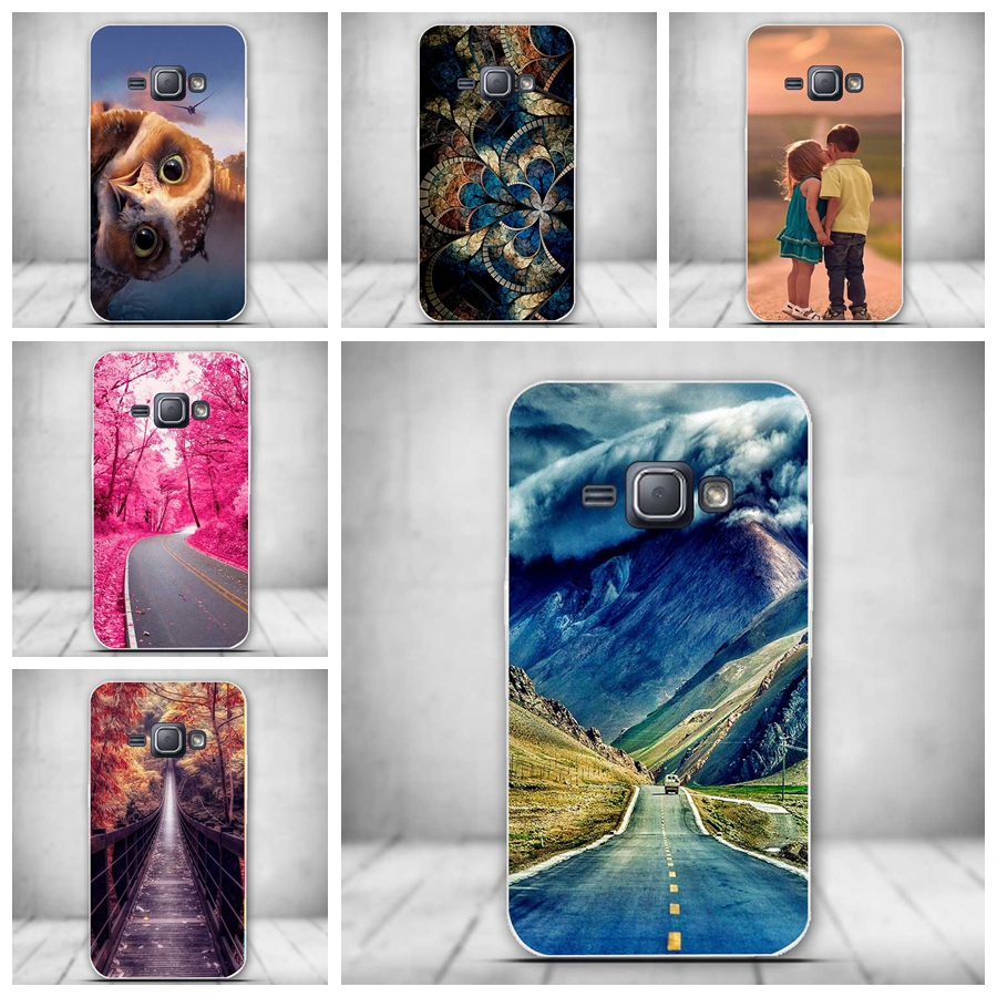 New Case for Samsung J3 2016 Case Luxury Design Pattern Phone Case Soft TPU Cover for Samsung Galaxy J3 2016 J320F Silicon Cover