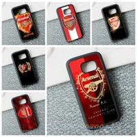 Arsenal FC Cool Logo Protection Phone Case Cover For Samsung Galaxy S3 S4 S5 S6 S7