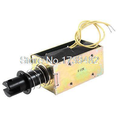 цена на 5mm/0.5Kg 76.8W Power Wired Open Frame Pull Type Solenoid Electromagnet DC 48V