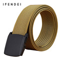 IFENDEI Tactical Belt Men's Military Outdoor Sports Belts Men High Quality Twill Canvas Super Wear Strap  Nylon Light Waist New
