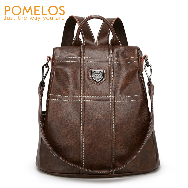 POMELOS Women Backpack 2019 New Anti Theft Designer Backpacks Women High Quality PU Leather Ladies Backpack Travel Woman BagpackPOMELOS Women Backpack 2019 New Anti Theft Designer Backpacks Women High Quality PU Leather Ladies Backpack Travel Woman Bagpack