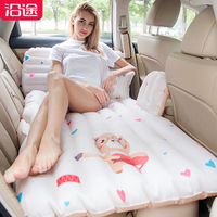 Автомобиль надувная кровать внедорожник заднее сиденье путешествия автомобиль матрас задний ряд автомобиля спальные вещи токарный станок