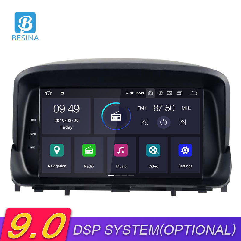 Besina Android 9.0 Car DVD Player For OPEL MOKKA Multimedia GPS Navigation Stereo 2 Din Car Radio Stereo Autoaudio Canbus wifi
