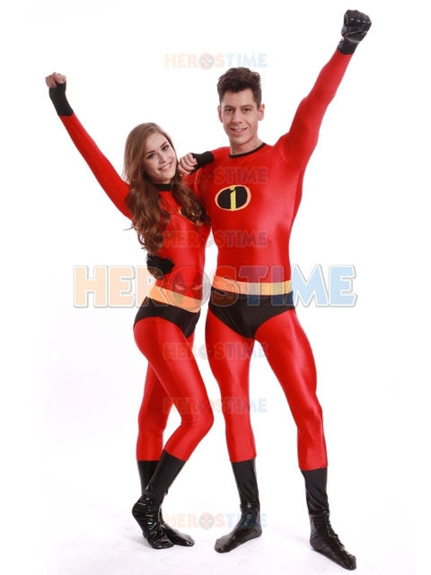 spandex mr incredible superhero costume halloween cosplay the incredibles costumes the most classic zentai suit free
