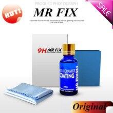 MR FIX 30 мл 9H твердость автомобиля супер гидрофобное стекло покрытие автомобиля жидкое керамическое покрытие авто краска уход долговечность Антикоррозийное