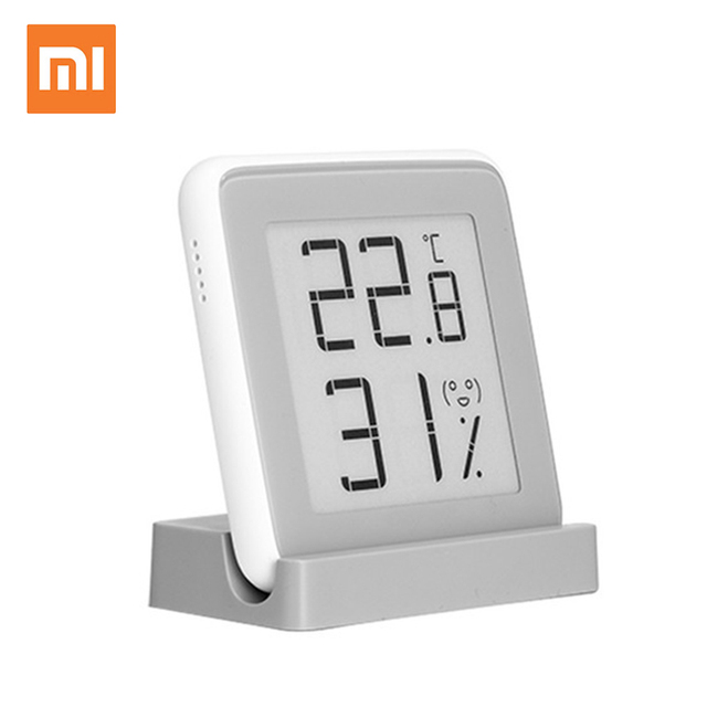 Xiaomi mijia MiaoMiaoCe E リンクインク画面表示デジタル水分計高精度温度計温度湿度センサー