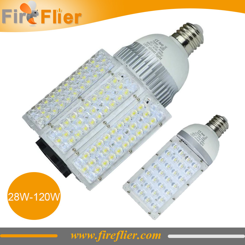 8pcs 30w 40w e27 street light 60w led bulb street 80w 100w 120w road lighting e40 outdoor led retrofit fixture ip65 e39