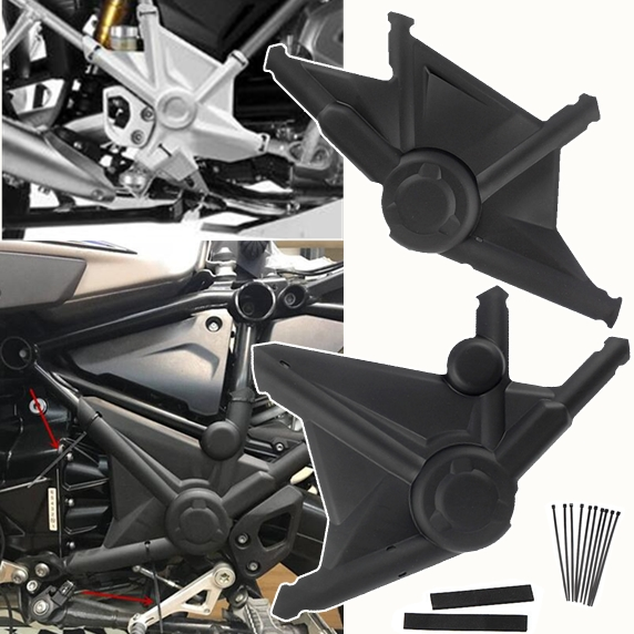 Side Protector For BMW R1200GS LC ADV 2013 2014 2015 2016 Full Frame Panel Guard Cover R 1200 GS Adventure 1200GSA Accessories