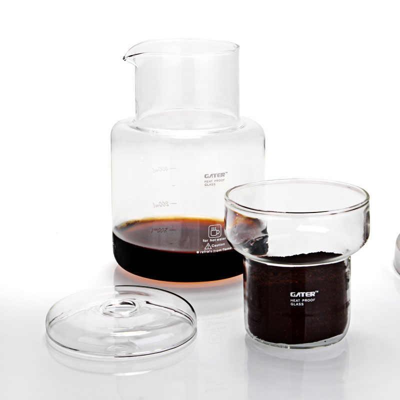 1000 мл эспрессо кофе капельная, для воды и льда кофе Форма под лед капельного холодного пивоварения Кофеварка/голландский Кофе чайник/вода кофе машинка