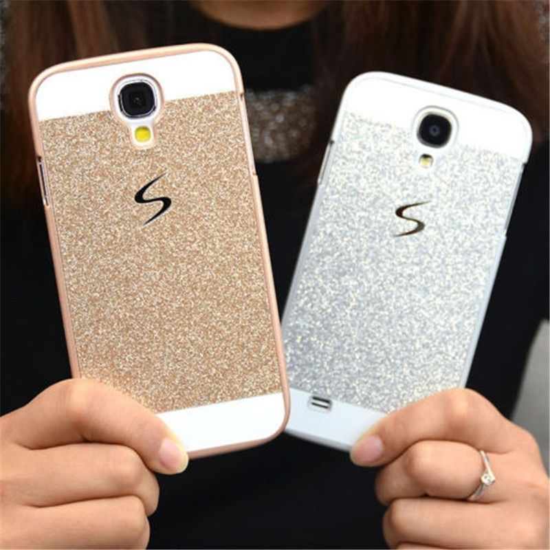 NEW HOT for Samsung Galaxy S8 Plus S7 edge Note 5 All Models Fashion Men Women Bling Glitter Hard Back Phone Case Cover