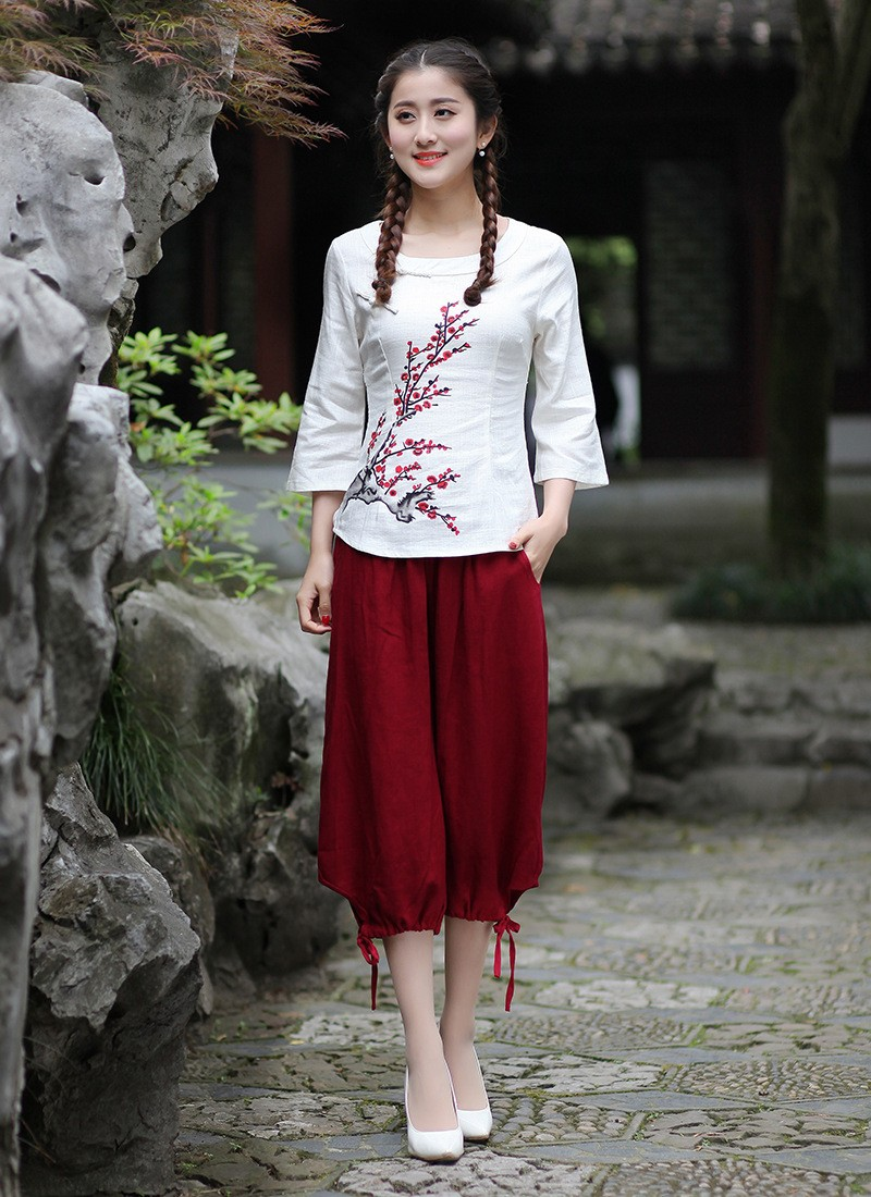 a58460a62 New Arrival Summer Chinese Style Mandarin Collar Women Tang Suit ...