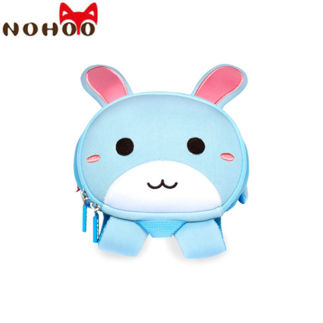 NOHOO Rabbit Children School Bags Waterproof Kids Baby Backpack Fashion Schoolbags Neoprene Kindergarten bag For Boys Girls-40