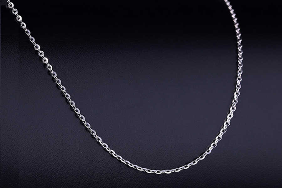 Collar de acero inoxidable de moda, cadena, colgante, medallón difusor, fabricación de joyas DIY para mujer