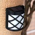 Clássico lâmpada de parede Solar Night Light iluminação de segurança à prova d ' água escuro Sensing Auto On / Off para pátio Deck quintal jardim Driveway