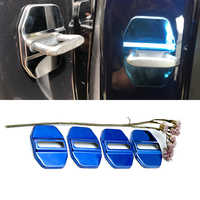 Stainless Steel Door Lock Buckle Protective Cover Auto Case For Mercedes-Benz M-class W166 ML 300 350 400 500 320 Car Styling