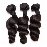 ALIPOP Loose Wave Brazilian Hair Weave Bundles 1PC Remy Hair Bundles 100 Human Hair Weaving