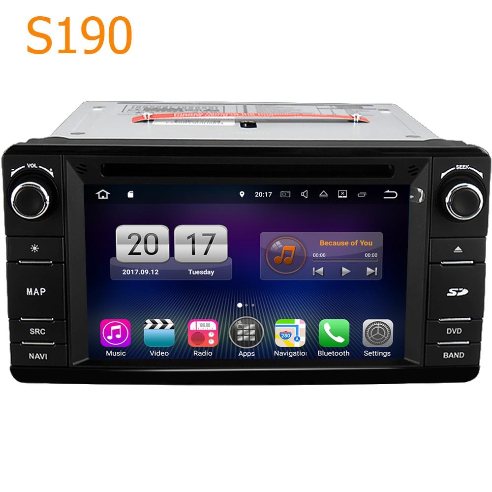 Дорога Топ winca S190 Android 7.1 Системы 4 core Процессор автомобиля GPS DVD головное устройство для Mitsubishi Outlander Lancer Asx pajero 2013-2016