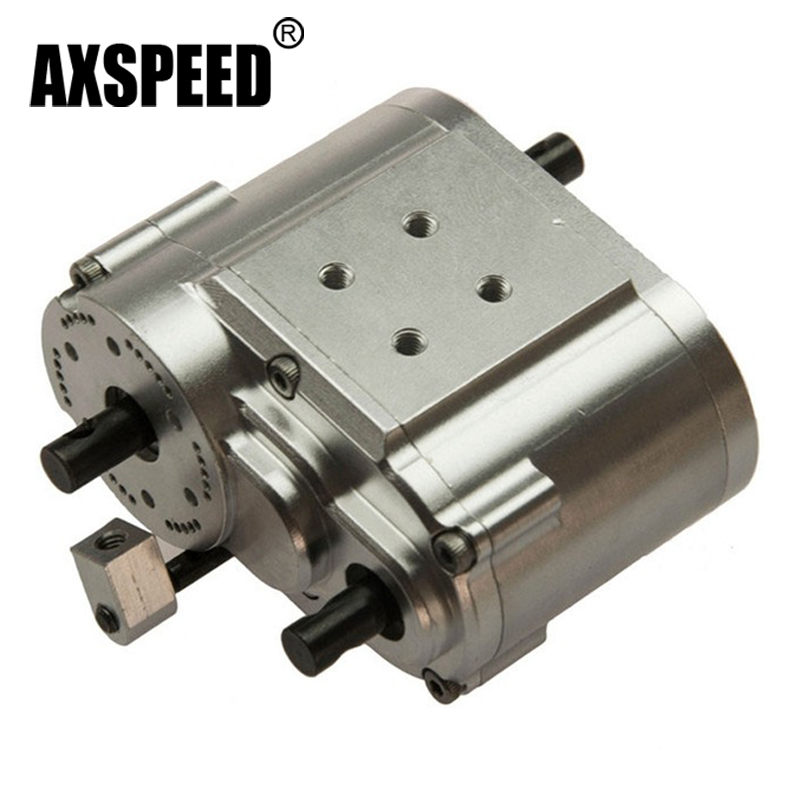 High Quality 2 Speed Transfer Case for 1/10 RC Crawler, truck SCX10 RC4WD Free Shipping