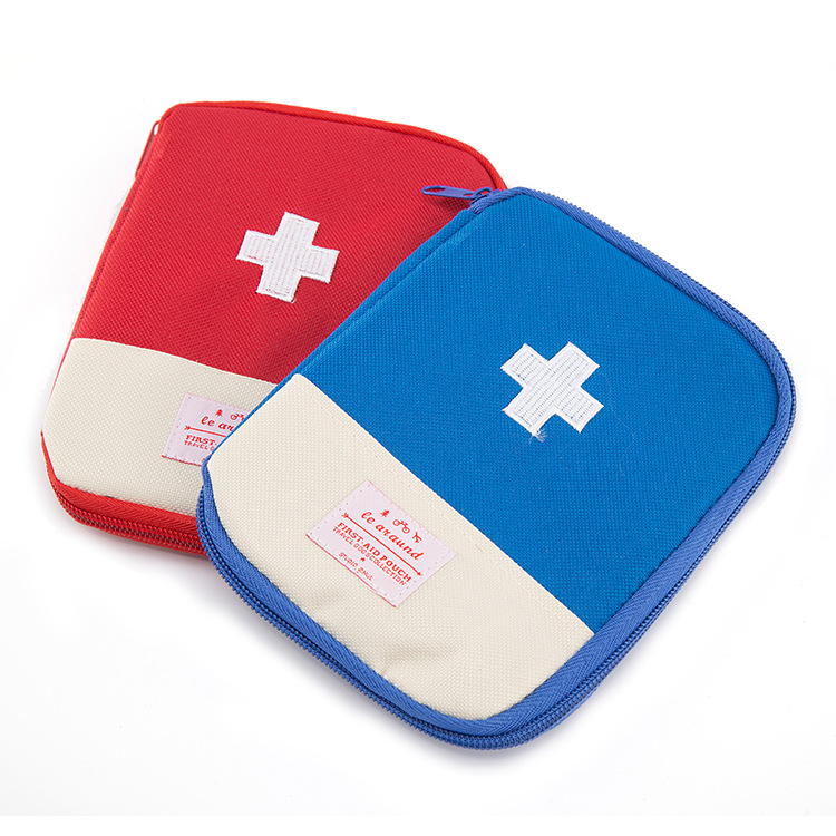 12*17 CM Travel Pill Box Mini Empty Home Medicine Bag Emergency Kit Bags Survival First Aid Kit Drugs Portable Medical Package