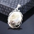 34x46mm Hot sale Prevalent character Abalone seashells sea shells pendant embroider crafts jewelry making design diy Accessories