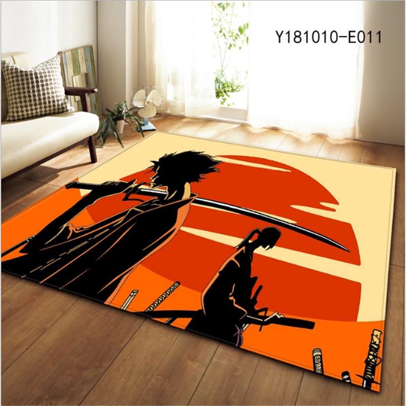 AOVOLL 2019 New Anime Type Living Room Bedroom Rugs Creative Carpet For Modern Living Room Bedroom Kid Room Floor Mats
