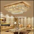 Бесплатная доставка Отель кристалл потолочный светильник ресторан свет современный кристалл лампа роскошный кристалл потолочный светиль...