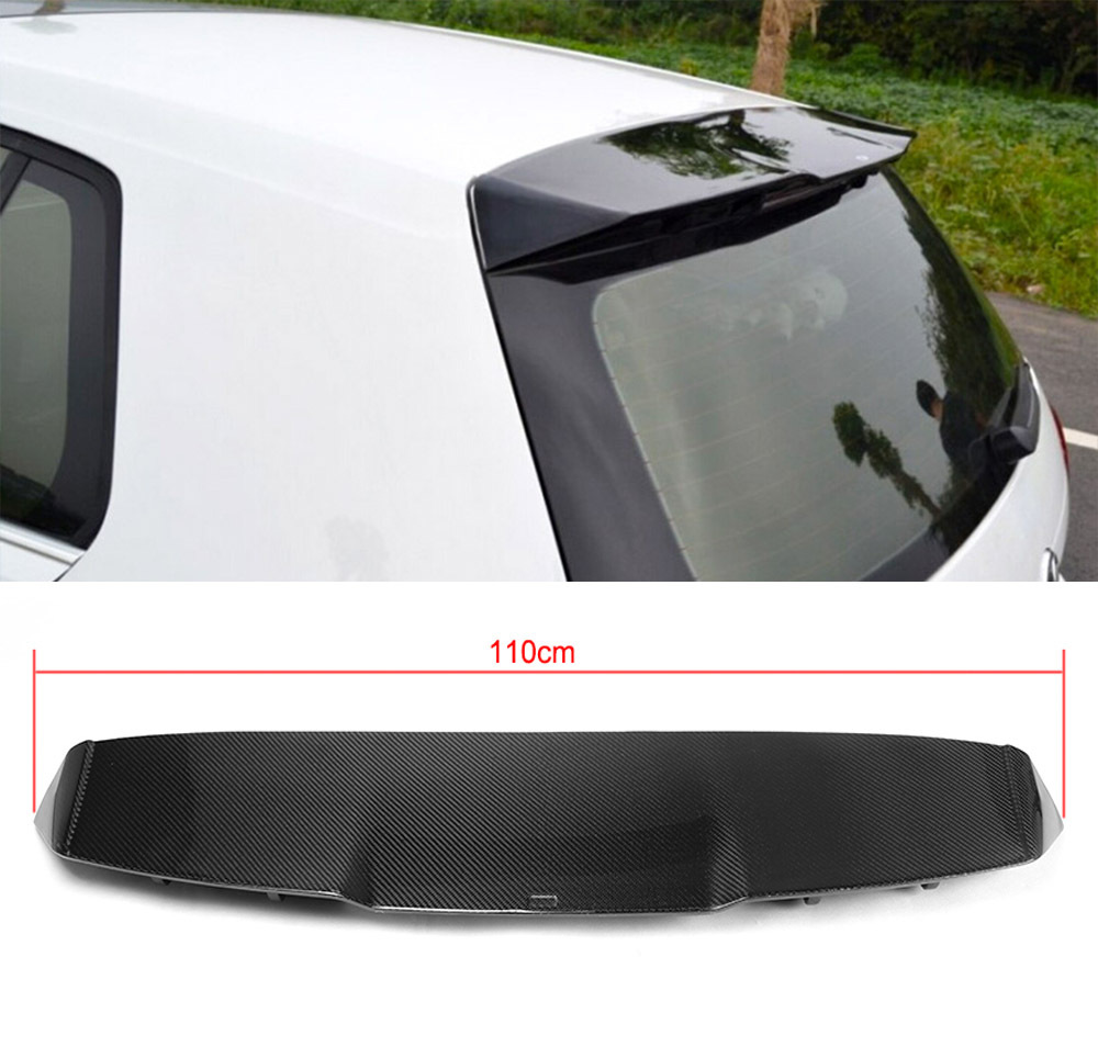 ᗚcarbon Fiber Rear Roof Spoiler Wing Wing Lip Fit For Vw ᗖ
