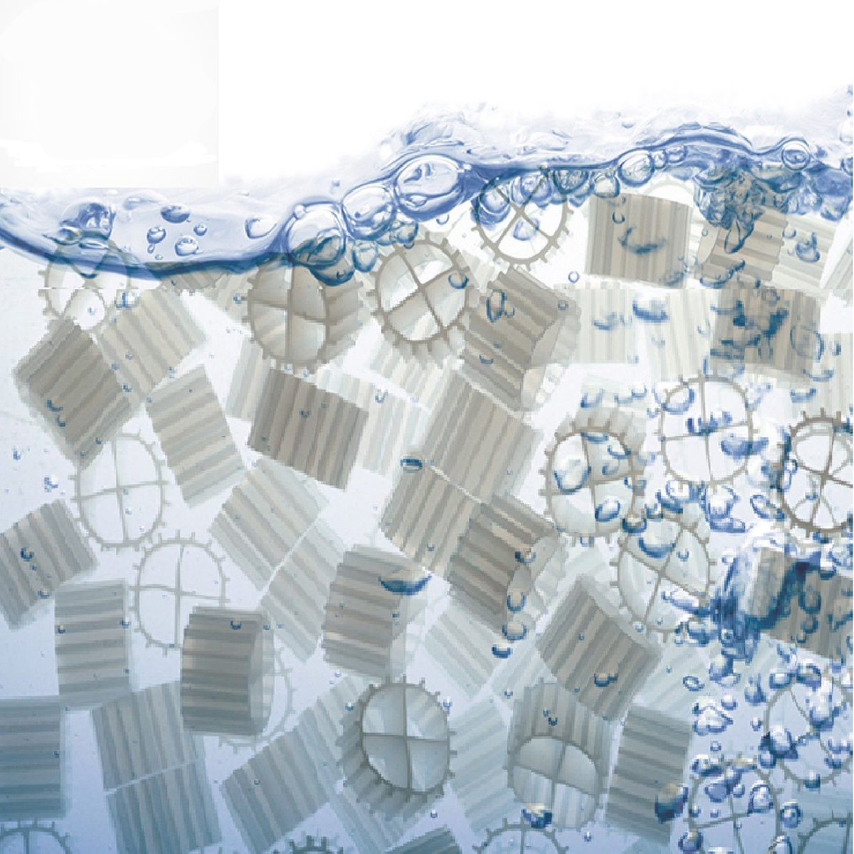 500g/1000g K1 kaldness Média Filtrant Réacteur à Biofilm À Lit Mobile Média Filtrant MBBR pour Aquarium Puisard Poisson réservoir de filtration de Bassin Bio Filtre