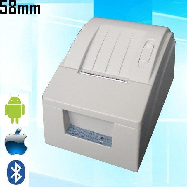 5 ШТ. Оригинал Bluetooth 58 мм ККМ Термальный Чековый Pirnter Беспроводные POS принтер 90 мм/сек. Для Android IOS_DHL