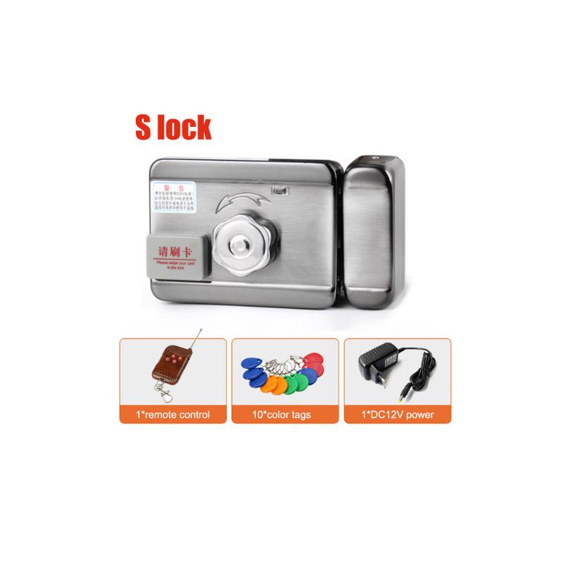 DC12V Electric Gate Door RFID Smart Lock Access Control System Free Chinese Knot As Gift