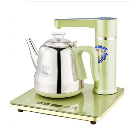 Electric kettle Fully automatic water-filled electric kettle, water, tea, Overheat Protection free shipping automatic water supply electric kettle tea set pumping furnace