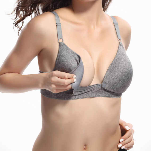 f0c59ff5f337b 1PC Fashion Summer Women Nursing Bras Front Buckle Maternity Breastfeeding  Pregnant Bra Underwear Push Up Bra