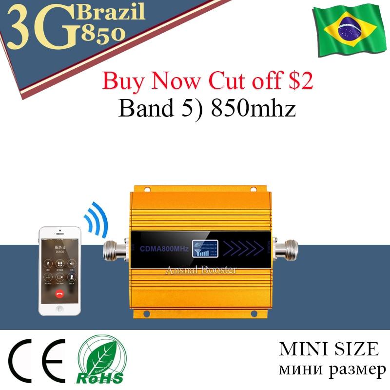 Repetidor De Sinal De Celular 850 Mhz CDMA 850 3G Mobile Cellular Signal Booster 850 Amplificador Sinal Celular 850