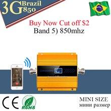 repetidor de sinal celular 850 mhz CDMA 3G mobile cellular signal booster amplificador