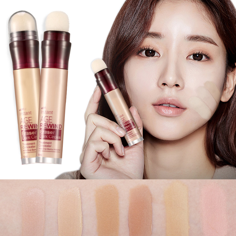 Face Foundation Concealer Eraser Pen Long Lasting Dark Circles Corrector Contour Concealers Stick Cosmetic Makeup DL все цены