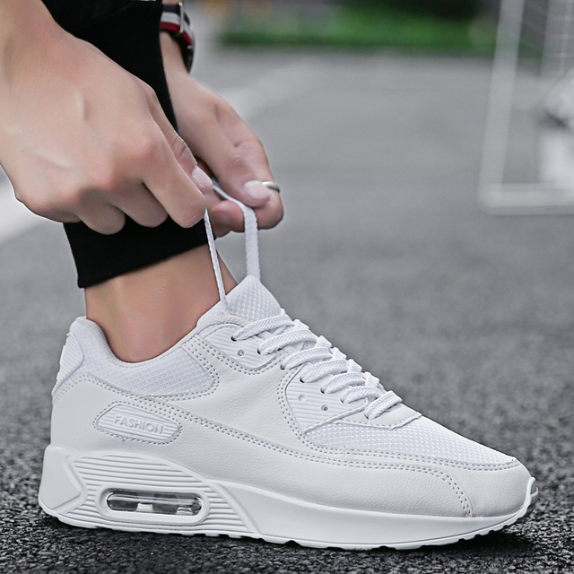 Brand new products casual shoes for unisex comfortable for men sneakers breathable mesh air cushioning lover shoes sizes 35-45