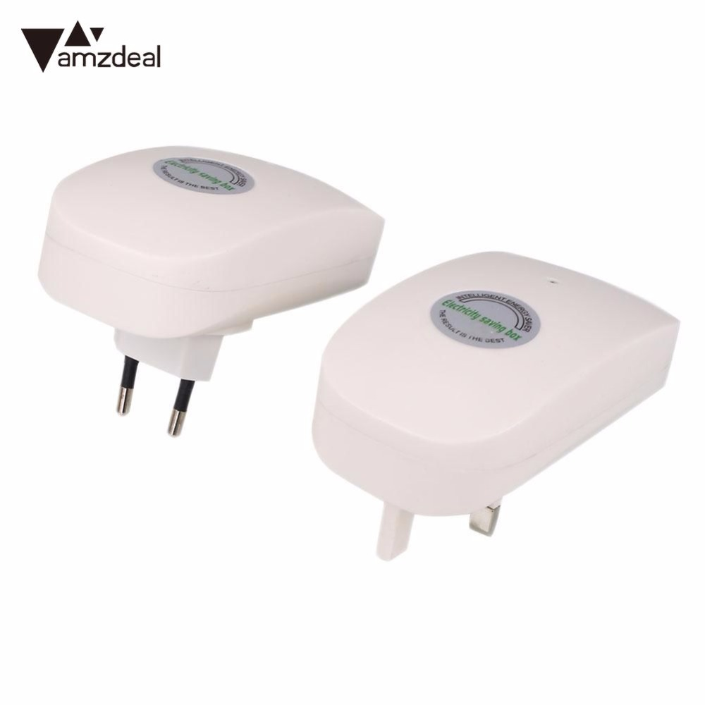 1-10Pcs Electricity Energy Saving Box Power Electric Saver 3WW 90-250V US Plug