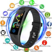 dc0e3605d97a BANGWEI 2018 nuevo deporte impermeable reloj hombres reloj inteligente  Monitor de ritmo cardíaco Bblood presión rastreador